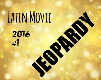 Latin Movie Jeopary 2016/2017 #1