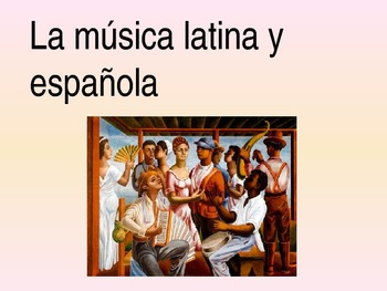 Latin Music Power Point