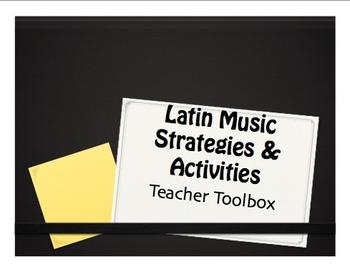 Latin Music Strategies and Activities