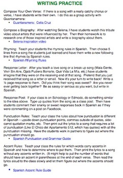 Latin Music Strategies and Activities