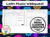 Latin Music Webquest