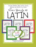 Latin Noun Bundle #2 - 5 puzzle packs in one bundle