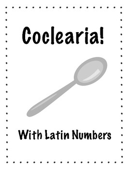 """Latin Numbers """"Spoons"""" Game (Coclearia!)"""