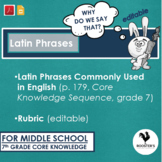 Latin Phrases {Digital & PDF} Distance Learning