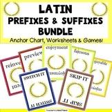 Latin Prefixes and Suffixes Bundle!