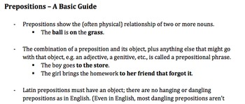 Latin preposition diagram packet by ed dehoratius tpt latin preposition diagram packet ccuart Gallery