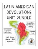 Latin Revolutions Unit