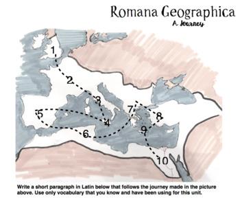 Latin Roman Geography Early Latin 1 Unit