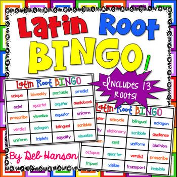 Latin Root Bingo