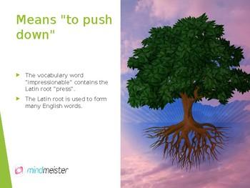 Latin Root: Press