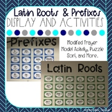 Latin Roots and Prefixes Display and Activities