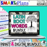 Latin Root Word Vocabulary Unit Mega Bundle (Print & Digit