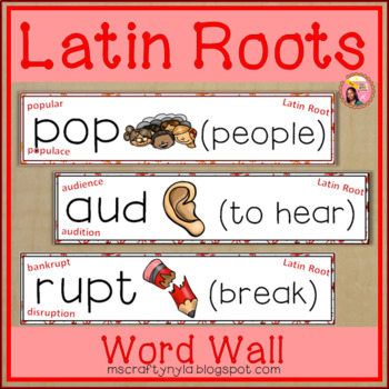 Latin Root Word Wall