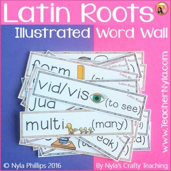 Latin Root Word Wall