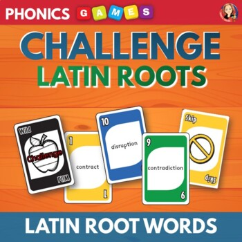 Latin Roots Card Game