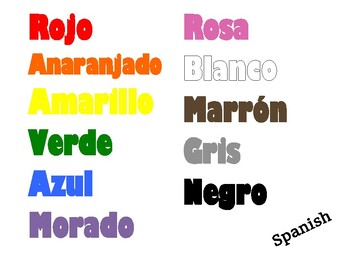 Latin Roots Colors