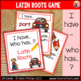 Latin Roots 'I Have Who Has' Game
