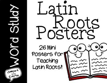 Latin Roots Mini-Posters