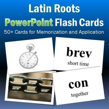 Latin Roots PowerPoint Flash Cards Part 2