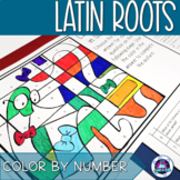 Latin Roots in Science Color-by-Number