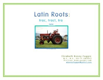 """Roots """"trac, tract, tra"""""""