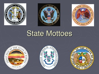Latin State Mottoes