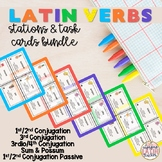 Latin Verbs: Stations Bundle