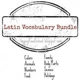 Latin Vocabulary Bundle I & II - Flashcards & Memory Games