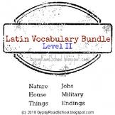 Latin Vocabulary Bundle II