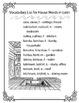 Latin Vocabulary Puzzles - Review of House Words for First Year Latin Students