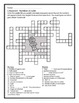 Latin Vocabulary Puzzles - Review of Numbers for First Yea