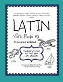 Latin Vocabulary Puzzles - Verb Pack 2 for First Year Lati