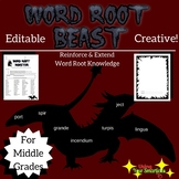 Latin Word Root Practice (Create a BEAST!)
