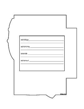 Latin and Greek Root Interactive Notebook