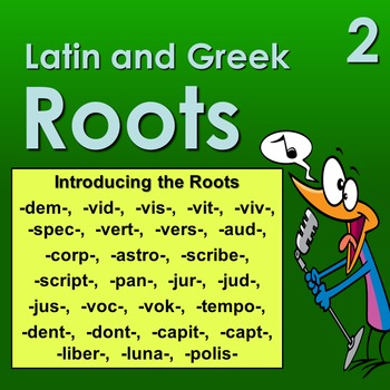 Latin and Greek Roots 2