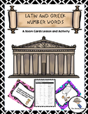 Latin and Greek Roots Boom Cards