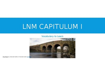 Latin for the New Millennium Chapter 1 Vocabulary