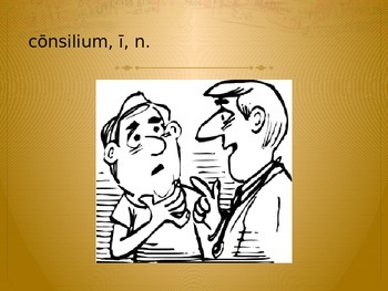 Latin for the New Millennium II Chapter 1 Vocabulary Review