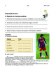 Messi and Shakira, Sports and Music; 4 thematic units - SP