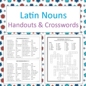 Latin Declensions 1 2 Worksheets Teaching Resources TpT
