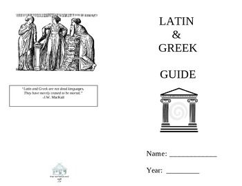 Latin/Greek Reference Booklet