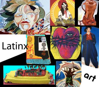 Latino American Art History ~ FREE POSTER ~ Hispanic American