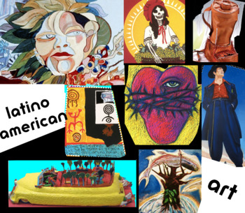 Latino American  Hispanic American  Art History - FREE POSTER
