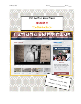Latino Americans: Episode 4 New Latinos Video Guide: Latinos in NY & Miami