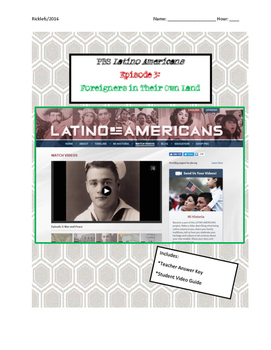 Latino Americans Episode 3 War and Peace Video Guide: Latinos in WWII, Zoot Suit