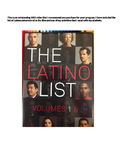 Latino List documentary Speaking Presentation