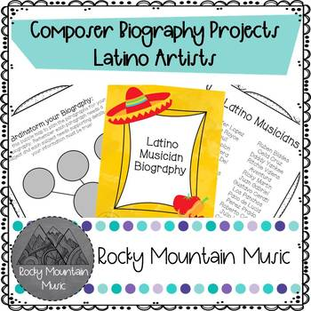 Latino Musician Biography Project