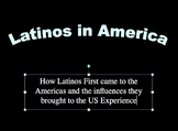 Latinos in America Lesson Bundle