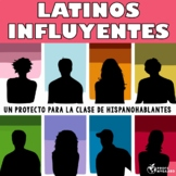 Latinos influyentes - un proyecto para la clase de hispano