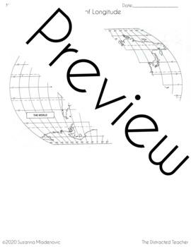 Latitude Lines Worksheet
